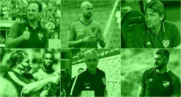 Palmeiras, técnicos
