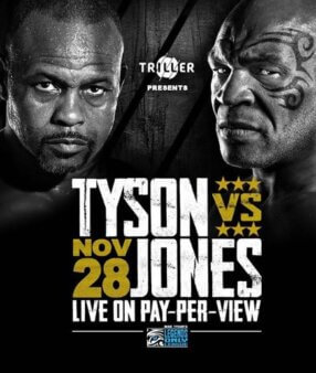 Mike Tyson x Roy Jones Jr ao vivo