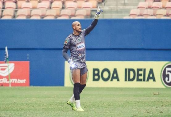 Gleibson, goleiro do Manaus (Foto: Ismael Monteiro/ Manaus FC)