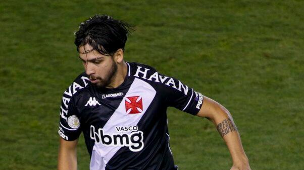 Martín Benítez em ação pelo Vasco