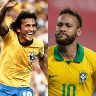 Zico Neymar Seleção