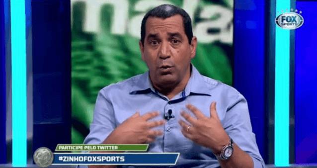Zinho falou sobre o Palmeiras.
