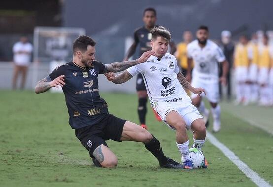 Santos e Ceará empataram sem gols no jogo de ida das oitavas de final da Copa do Brasil e quem vencer nesta quarta (4) avança às quartas de final (Foto: Ivan Storti/ Reprodução/ Flickr oficial do Santos FC)
