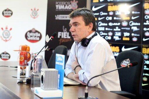 Andrés Sanchez Corinthians salários atrasados arbitragem