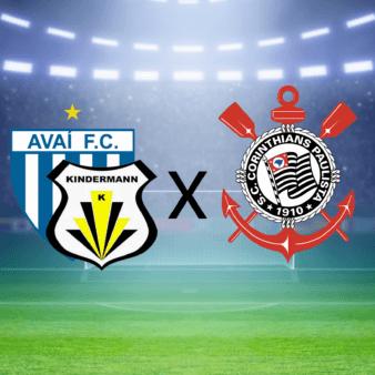 Avaí/Kindermann x Corinthians
