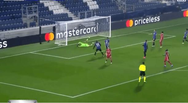 Atalanta x Liverpool gols