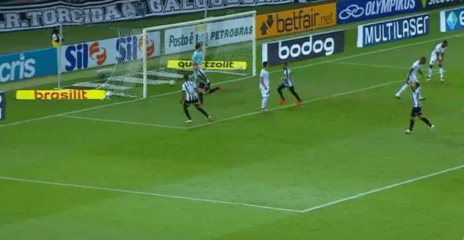 Atlético x Botafogo gols