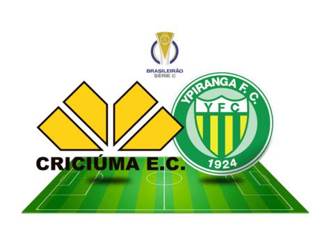 Assistir Criciúma x Ypiranga AO VIVO pelo Brasileirão Série C (Reprodução/ Arte: Adriano Oliveira)