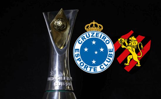 Assista Cruzeiro x Sport AO VIVO pela 13ª rodada do Brasileirão Sub-20 (Divulgação/ Arte: Adriano Oliveira)