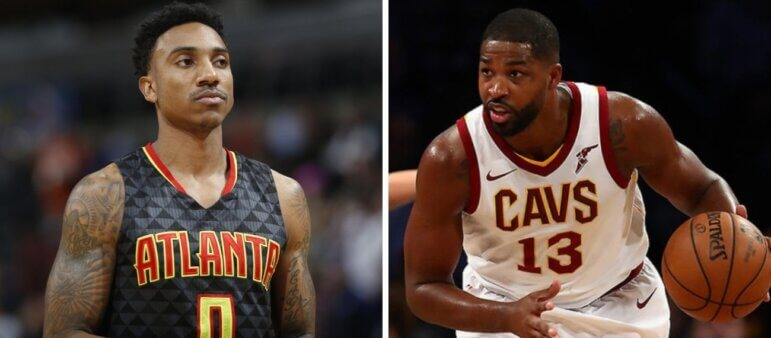 Jeff Teague e Tristan Thompson fecham com o Boston Celtics