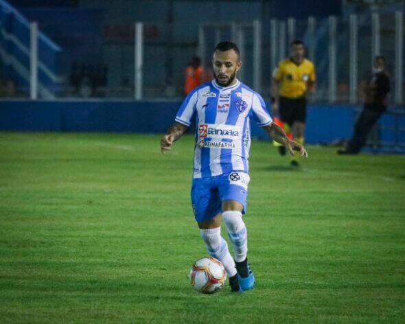 Erik Bessa disputou apenas seis jogos pelo time bicolor e não marcou nenhuma vez - imagem: Jorge Luiz/Paysandu