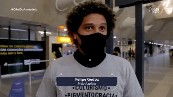 Felipe Gedoz já está em Belém