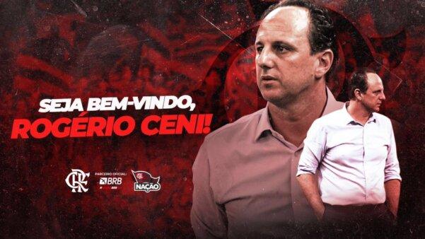 Ceni foi oficializado pelo Flamengo.