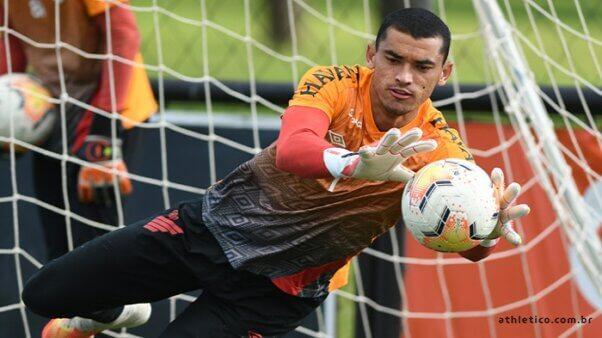 Provável escalação do Athletico Paranaense (Foto: Mauricio Mano/ Site oficial Athletico Paranaense/ athletico.com.br)
