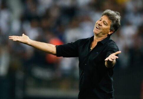 """Renato Gaúcho projeta Gre-Nal e reencontro com Abel Braga: """"Grande amigo"""""""
