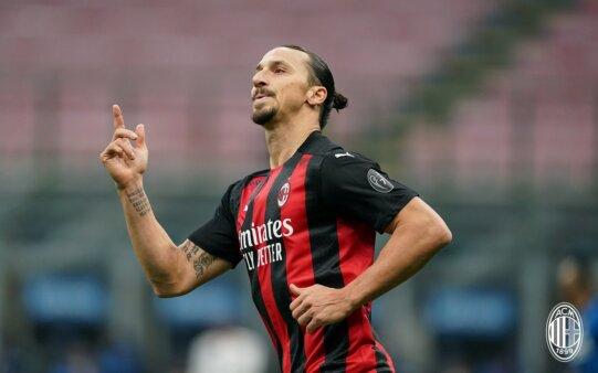 Ibrahimovic vai voltar a campo pelo Milan.