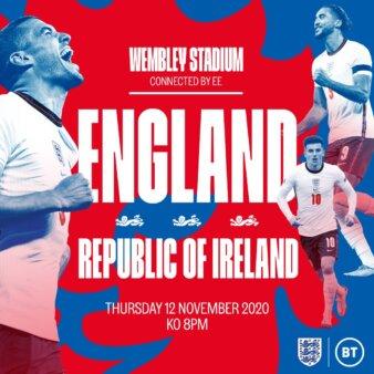 Inglaterra x Irlanda guia