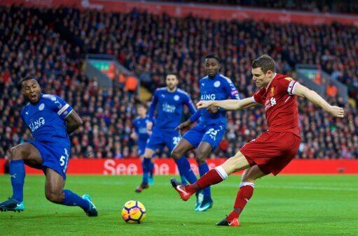 Liverpool encara o Leicester.