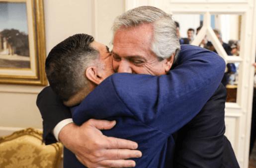 maradona presidente da argentina
