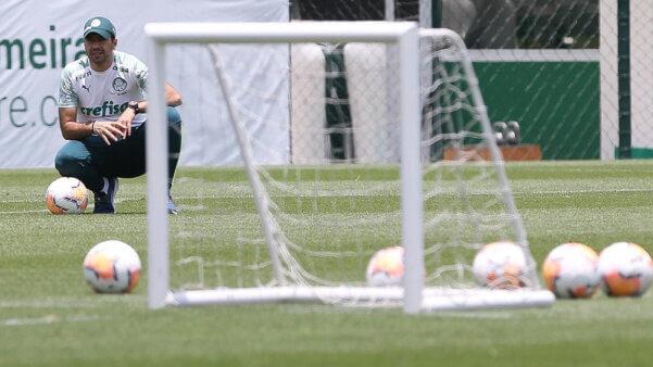 Palmeiras se prepara para a Libertadores.