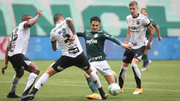 Palmeiras encara o Ceará.