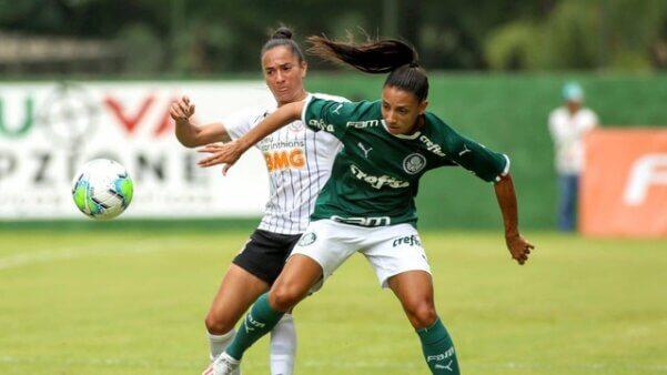 Palmeiras x Corinthians escalações semifinal Brasileirão Feminino