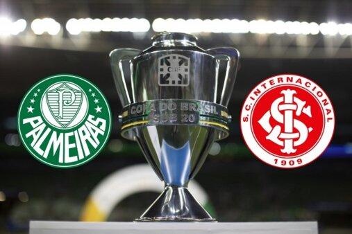 Assista Palmeiras x Internacional AO VIVO pelas quartas de final da Copa do Brasil Sub-20 - Foto: Lucas Figueiredo/ CBF (Arte: Adriano Oliveira)