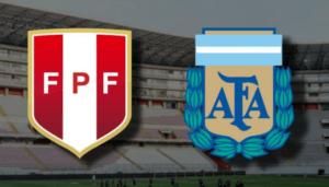 Peru x Argentina ao vivo