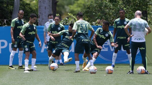 Provável escalação Palmeiras Delfin Libertadores