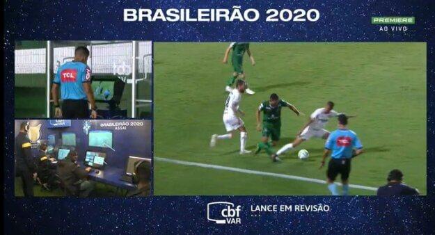 Goiás x Palmeiras: Mayke foi expulso