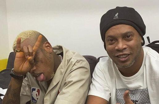 Ronaldinho e Recayd Mob