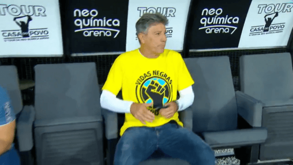 Corinthians x Grêmio: Renato Gaúcho