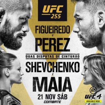 UFC 255 resultados