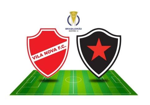 Vila Nova x Botafogo-PB AO VIVO pelo Brasileirão Série C (Reprodução/ Arte: Adriano Oliveira)