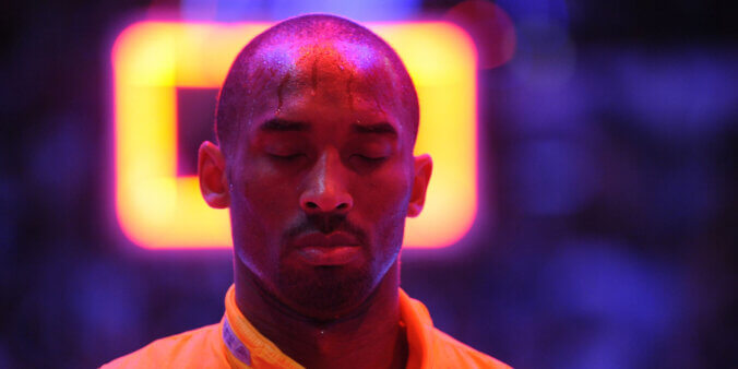Kobe Bryant morreu em 2020