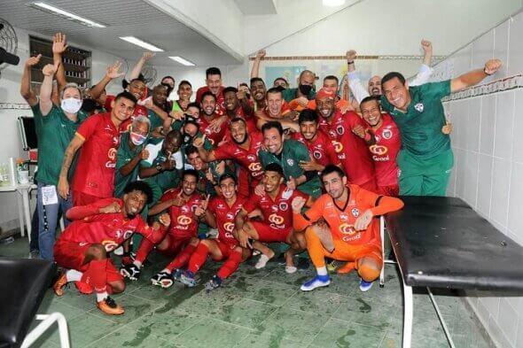 Portuguesa é campeã da Copa Paulista de 2020 (Foto: Divulgação/ Facebook oficial Portuguesa de Desportos)