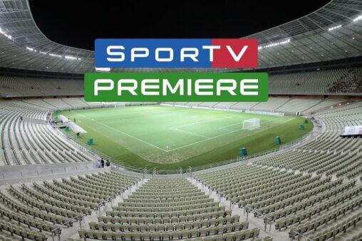Jogos AO VIVO no SporTV e Premiere - Foto: Arena Castelão/ Divulgação/ CBF (Arte: Adriano Oliveira)