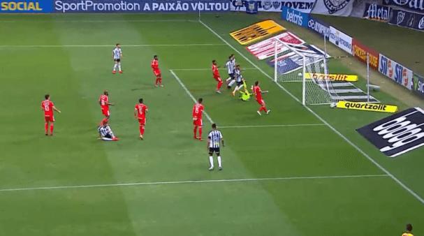 Atlético x Internacional gols