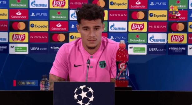 Coutinho falou sobre Messi.