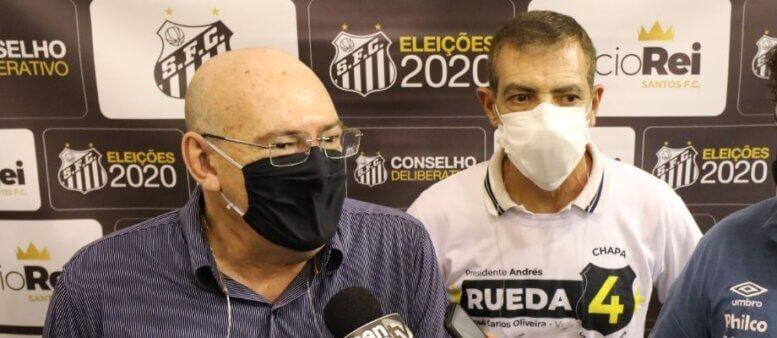 Eleição Andrés Rueda no Santos