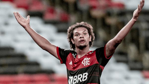 Willian Arão tem contrato com o Flamengo até dezembro de 2023