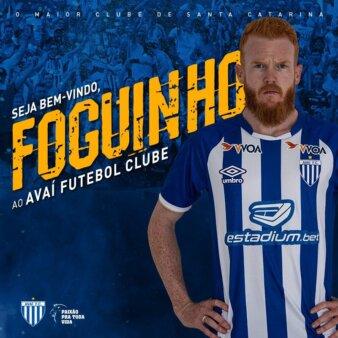 Mercado da Bola: Avaí anuncia Foguinho, ex-Criciúma