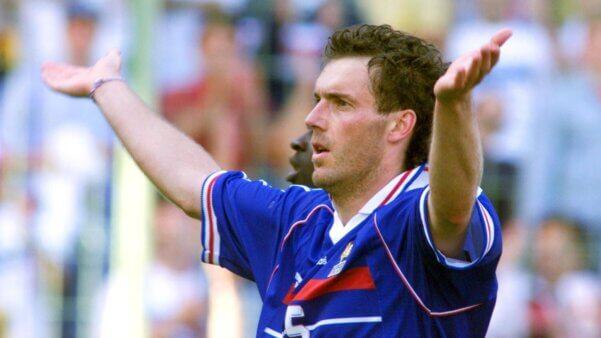 Laurent Blanc venceu pela França a Copa do Mundo de 1998
