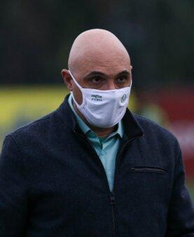 Presidente do Palmeiras, Maurício Galiotte testa positivo para a Covid-19