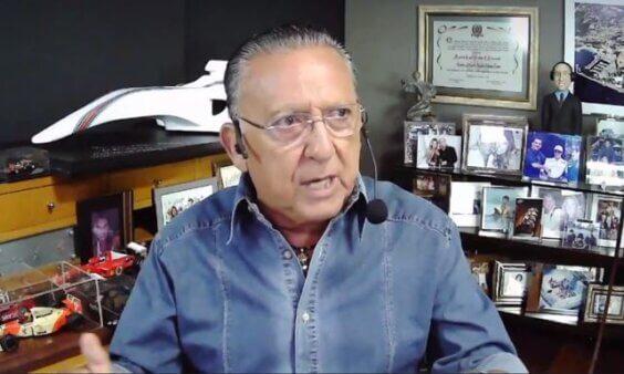 Galvão Bueno, Neymar