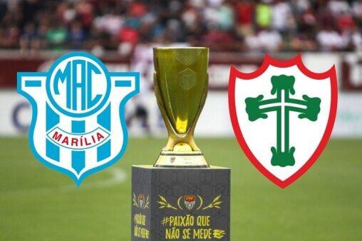 Marília x Portuguesa AO VIVO: assista à final da Copa Paulista - Foto: Amanda Rocha/ Divulgação/ FPF (Arte: Adriano Oliveira)