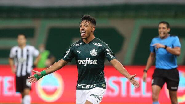 Gabriel Menino busca sucesso no Palmeiras e na seleção do Brasil.