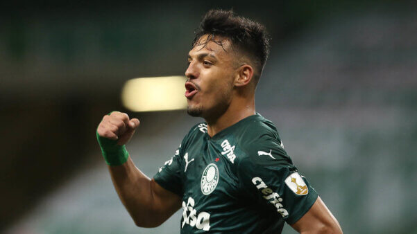 Menino vive ótima fase no Palmeiras na Libertadores.