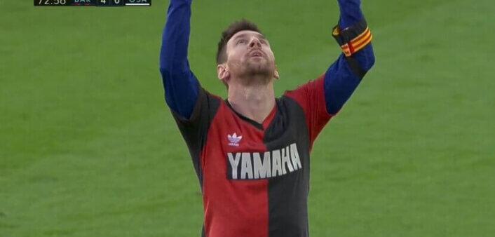 Messi e Barcelona são multados após homenagem a Maradona