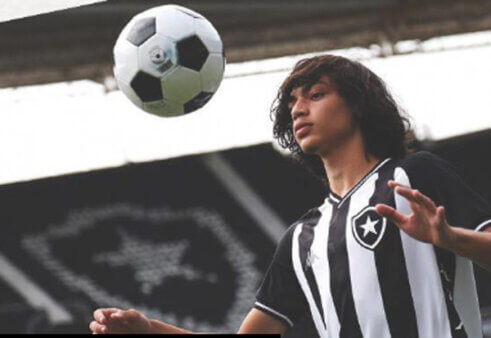 Matheus Nascimento no Botafogo